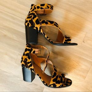 Quipid leopard heels